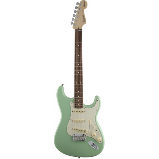 FENDER JEFF BECK STRATOCASTER RW GUITARRA ELECTRICA SURF GREEN