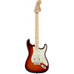 FENDER DELUXE HSS STRATOCASTER MN GUITARRA ELECTRICA TOBACCO BURST