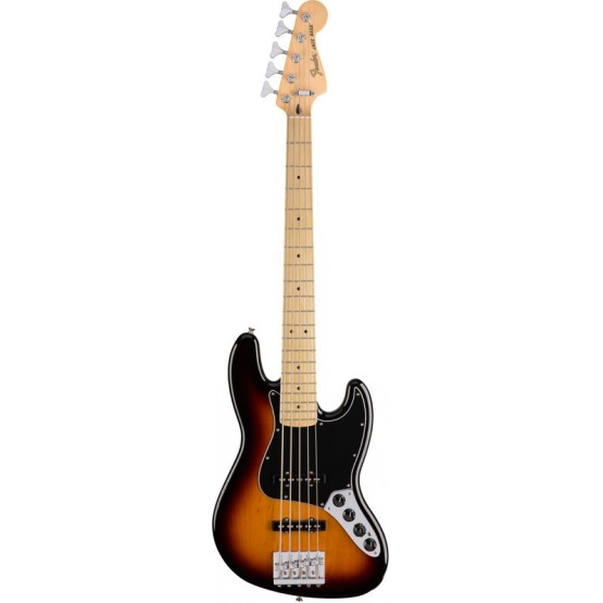 FENDER DELUXE ACTIVE JAZZ BASS V MN BAJO ELECTRICO 3 COLORES SUNBURST