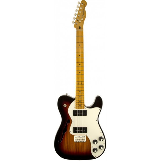 FENDER MODERN PLAYER TELECASTER THIN LINE DELUXE GUITARRA ELECTRICA 3 COLOR SUNBURST