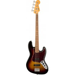 FENDER CLASSIC SERIES 60S LACQUER JAZZ BASS PF BAJO ELECTRICO 3 COLOR SUNBURST