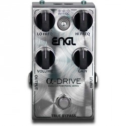 ENGL EP03 ALFA DRIVE PEDAL OVERDRIVE. NOVEDAD
