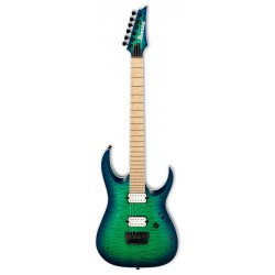 IBANEZ RGAIX6MQM SRB IRON LABEL GUITARRA ELECTRICA SURREAL BLUE BURST