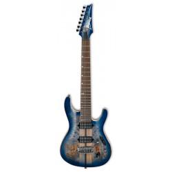 IBANEZ S1027PBF CLB PREMIUM GUITARRA ELECTRICA 7 CUERDAS CERULEAN BLUE BURST