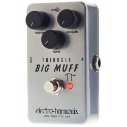 ELECTRO HARMONIX TRIANGLE BIG MUFF PEDAL OVERDRIVE. NOVEDAD