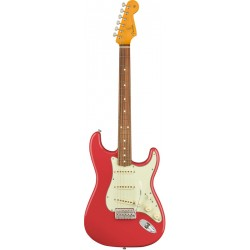 FENDER CLASSIC SERIES 60S LACQUER STRATOCASTER PF GUITARRA ELECTRICA FIESTA RED