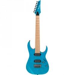 IBANEZ RG752MQFXS TAB GUITARRA ELECTRICA 7 CUERDAS TRANSPARENT AQUA BLUE
