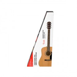 FENDER FA115 V2 PACK GUITARRA ACUSTICA DREADNOUGHT NATURAL CON FUNDA.