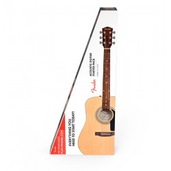 FENDER FA115 PACK GUITARRA ACUSTICA DREADNOUGHT NATURAL.