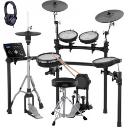 ROLAND -PACK- TD25K BATERIA ELECTRONICA+ PEDAL HIHAT + KIT ROLAND DAP3X Y AURICULARES