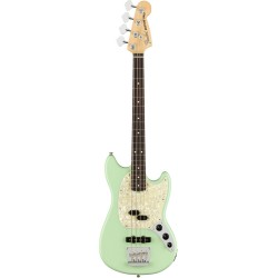 FENDER AMERICAN PERFORMER MUSTANG BASS RW BAJO ELECTRICO SATIN SURF GREEN
