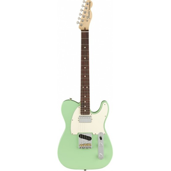 FENDER AMERICAN PERFORMER TELECASTER HUM RW GUITARRA ELECTRICA SATIN SURF GREEN