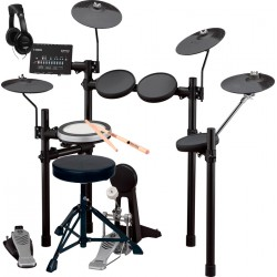 YAMAHA -PACK- DTX482K BATERIA ELECTRONICA + ASIENTO + AURICULARES Y BAQUETAS