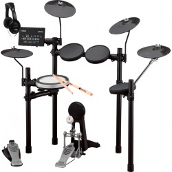 YAMAHA -PACK- DTX482K BATERIA ELECTRONICA + AURICULARES Y BAQUETAS