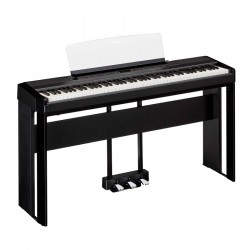 YAMAHA -PACK- P515 B PIANO DIGITAL NEGRO + SOPORTE Y PEDALERA