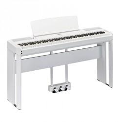 YAMAHA -PACK- P515 WH PIANO DIGITAL BLANCO + SOPORTE Y PEDALERA