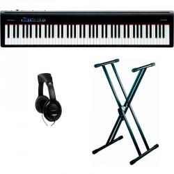 ROLAND -PACK- FP10BK PIANO DIGITAL + SOPORTE TIJERA Y AURICULARES