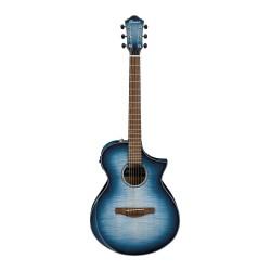 IBANEZ AEWC400 IBB GUITARRA ELECTROACUSTICA INDIGO BLUE BURST. NOVEDAD