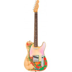 FENDER JIMMY PAGE TELECASTER RW GUITARRA ELECTRICA NATURAL DRAGON. NOVEDAD