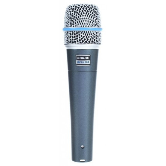 SHURE BETA57A MICROFONO VOCAL INSTRUMENTOS ACUSTICOS