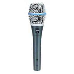 SHURE BETA87A MICROFONO VOCAL UNIDIRECCIONAL SUPERCARDIOIDE
