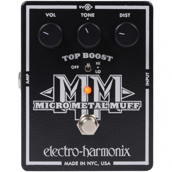 ELECTRO HARMONIX MICRO METAL MUFF PEDAL DISTORSION