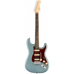 FENDER AMERICAN ELITE STRATOCASTER HSS SHAWBUCKER EB GUITARRA ELECTRICA SATIN ICE BLUE METALLIC