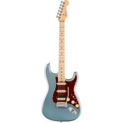 FENDER AMERICAN ELITE STRATOCASTER HSS SHAWBUCKER MN GUITARRA ELECTRICA SATIN ICE BLUE METALLIC