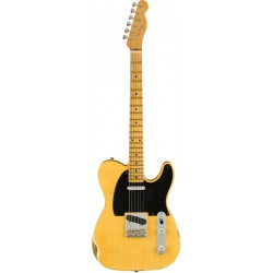 FENDER CUSTOM SHOP 2019 RELIC 1952 TELECASTER GUITARRA ELECTRICA AGED NOCASTER BLONDE. BOUTIQUE
