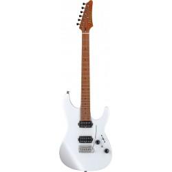 IBANEZ AZ2402 PWF PRESTIGE GUITARRA ELECTRICA PEARL WHITE FLAT. NOVEDAD
