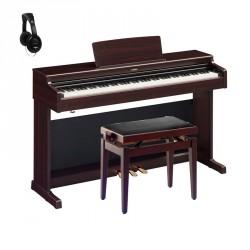 YAMAHA -PACK- YDP164R PIANO DIGITAL ARIUS ROSEWOOD + BANQUETA Y AURICULARES