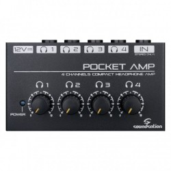 SOUNDSATION POCKET AMP AMPLIFICADOR AURICULARES