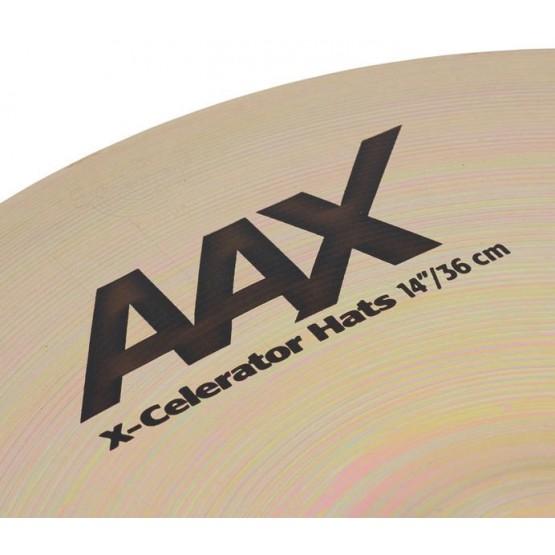 SABIAN AAX 21402XLB XCELERATOR HI HATS 14 PLATOS BATERIA