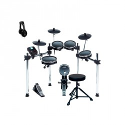 ALESIS -PACK- SURGE MESH KIT BATERIA ELECTRONICA + ASIENTO Y AURICULARES