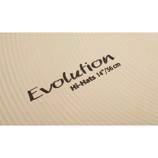 SABIAN HHXE 11402XEB HI HATS EVOLUTION 14 PAR PLATOS BATERIA