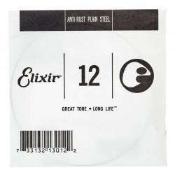 ELIXIR 012 ANTI RUST CUERDA GUITARRA ELECTRICA O ACUSTICA PLANA