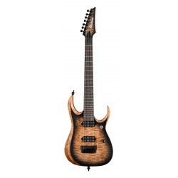 IBANEZ RGD71AL ANB AXION LABEL GUITARRA ELECTRICA 7 CUERDAS ANTIQUE BROWN STAINED BURST. NOVEDAD