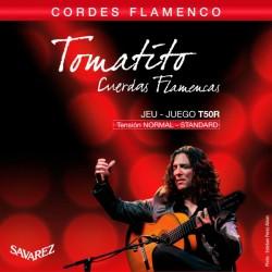 SAVAREZ T50R TOMATITO JUEGO CUERDAS GUITARRA FLAMENCA