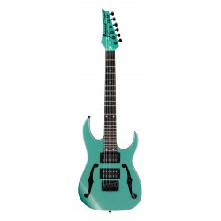 IBANEZ PGMM21 MGN MIKRO PAUL GILBERT GUITARRA ELECTRICA METALLIC LIGHT GREEN. NOVEDAD