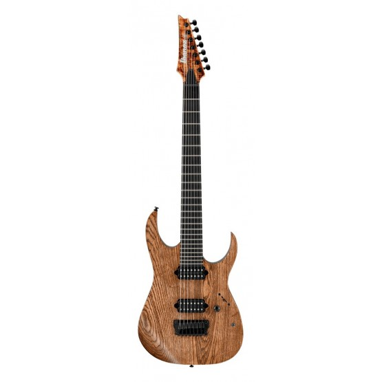 IBANEZ RGIXL7 ABL IRON LABEL GUITARRA ELECTRICA 7 CUERDAS ANTIQUE BROWN STAINED