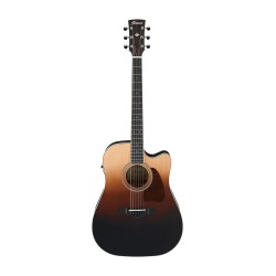 IBANEZ AW80CE BLG ARTWOOD GUITARRA ELECTROACUSTICA DREADNOUGHT BROWN ALE GRADATION