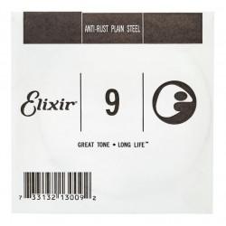ELIXIR 009 ANTI RUST CUERDA GUITARRA ELECTRICA O ACUSTICA PLANA