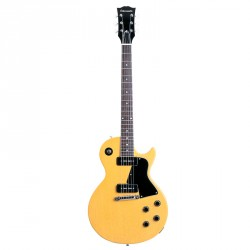 EDWARDS E-LS-115LT TV YL GUITARRA ELECTRICA AMARILLA