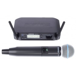 SHURE GLXD24E B58 SISTEMA INALAMBRICO DIGITAL DE MANO VOCAL BETA 58
