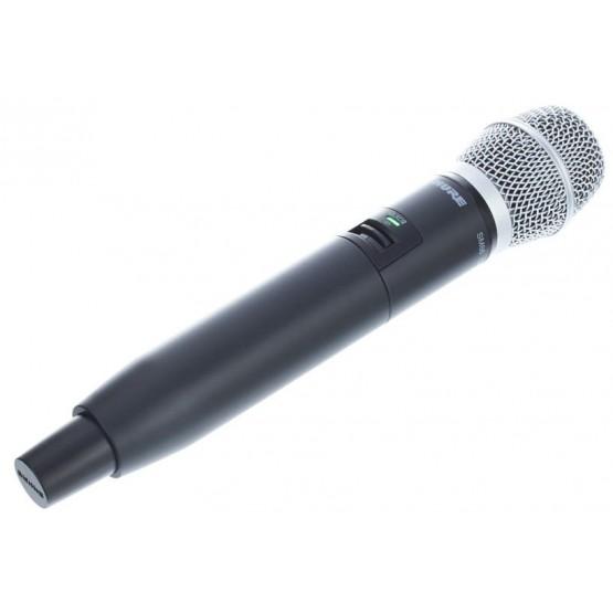 SHURE GLXD24E SM86 SISTEMA INALAMBRICO DIGITAL DE MANO VOCAL SM