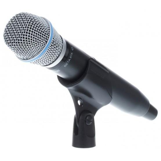 SHURE GLXD24E B87A SISTEMA INALAMBRICO DIGITAL DE MANO VOCAL BETA 87