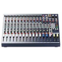 SOUNDCRAFT EFX12+KIT MESA DE MEZCLAS CON EFECTOS + RACK KIT
