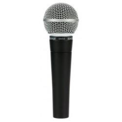 SHURE SM58LCE MICROFONO VOCAL UNIDIRECCIONAL