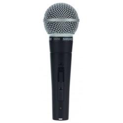 SHURE SM58SE MICROFONO VOCAL CON INTERRUPTOR
