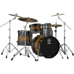 YAMAHA LIVE CUSTOM HYBRID OAK ROCK SET BATERIA ACUSTICA UZU EARTH SUNBURST. NOVEDAD